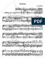Betoven - Sonatina G-dur