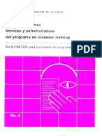 Manual de Normas Tecnicas y Administrativas Del Programa de Diabetes Mellitus