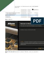 Cara Instal Sofware Altium