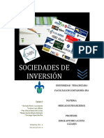 Sociedades de Inversión Libro