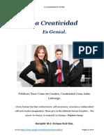 La Creatividad Es Genial - Como Ser Creativo
