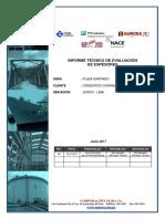 Informe de Evaluacion de Espesores Consorcio Cominsa