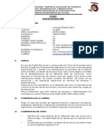 SILABU DEL CURSO DE ANALISIS ESTRUCTURAL I-2014-II UNHEVAL EAPIC.pdf