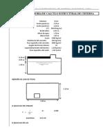 Diseño Est. Cisterna Cap. 12m3