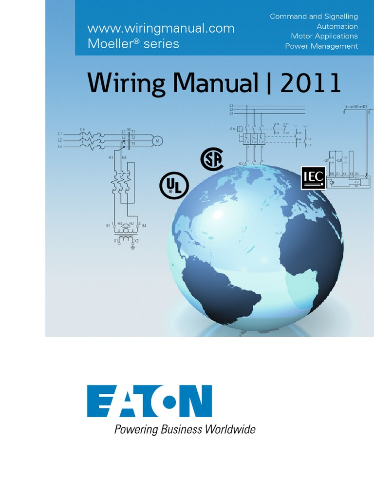 complete wiring manual eaton fuse electrical power inverter rh scribd com klockner moeller wiring manual pdf klockner moeller wiring manual automation and power distribution
