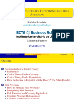 02 Utility Functions and Risk Aversion Coefficients Slides