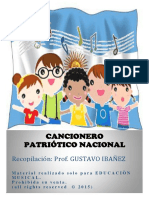 Cancionero Patriótico Nacional 2015