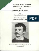 Casal de, Julián - Poesía Homosexual y Cósmica