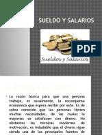 Sueldo y Salarios