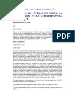 EL DELITO DE USURPACIÓN SEGÚN LA LEY N° 30076 Y LA JURISPRUDENCIA VINCULANTE