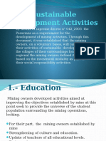Sustainable Development Activities DAC