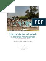 Informe Piscina Redonda de Comfandi Arroyohondo