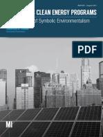 New York's Clean Energy Programs