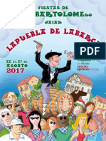 PROGRAMA SAN BARTOLOMÉ LAPUEBLA DE LABARCA