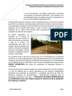 Proyecto de Carretera a.v.a.