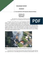 NTSB Prelim Report