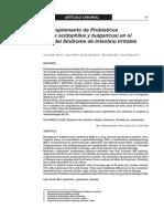 Utilidad Del Suplemento de Probioticos - Articulo Ensayo Clinico