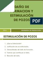 6.- Daño de Formación y Estimulacion