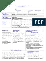 planifica-ion  secuencia 1 español