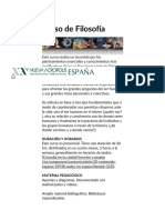 Curso de Filosofía - Nueva Acrópolis España