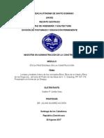 Realizar una lectura y análisis crítico de los conceptos Ética, Ética de la virtud y Ética de los negocios,  del texto el Poder de las ideas de A. C. Grayling, PP 167-179. Presentarlo en forma de un Ensayo..docx
