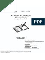 El diario del profesor-Porlan Rafael.pdf