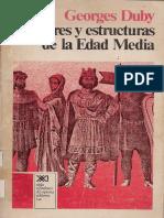 Duby Georges - Hombres Y Estructuras De La Edad Media.pdf