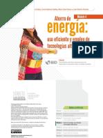 Ahorro de Energía, Su Uso Eficiente y Tecnologías Alternativas