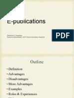 Claa 2 e Publications