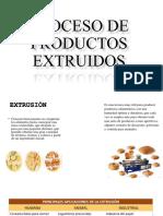 Proceso de Productos Extruidos
