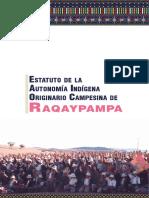 Estatuto de la Autonomía Indígena Originario Campesina de Raqaypampa