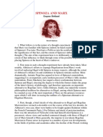 HOLLAND_spinoza e Marx