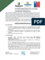 Programa Premium 2.0 Bariloche 2016