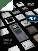 JUNG Catalogo Tarifa 24 ES