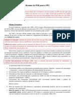 Resumo de FEB Para a PP2 - Final
