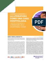 Andruetto_La Literatura Como Una Casa Hospitalaria