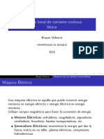 Maquinas electrica, conceptualizacion del motor DC