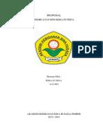 Proposal Usaha Tahap 1- pembuatan BPM Riska Putrina