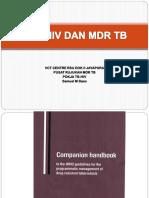 Tb-hiv Dan Mdrtb