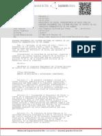 Decreto Supremo N°3 - Versión 28-09-2014