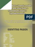 Case II (Prolaps Uteri + Anemia).pptx