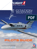 Cessna Citation Mustang for P3D Pilot's Guide