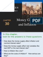 Chapter 30 Money Growth and Inflation