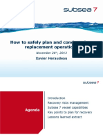 9 - Subsea 7, How to Safely Plan and Conduct Riser Replacement Operations