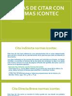 Formas Citar i y Referenciar Icontec