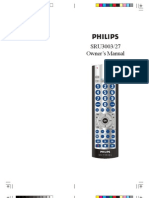 UR5 Universal Remote Control Manual | Remote Control