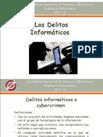 Los Delitos Informaticos