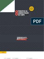 eBook 8 Principios Da Administracao Do Tempo Segredos Da Alta Performance