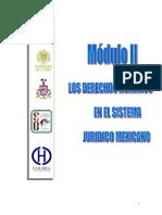 Los DH en El Sistema Jurídico Mexicano