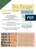 mrsbriggs-syllabus-2017-2018